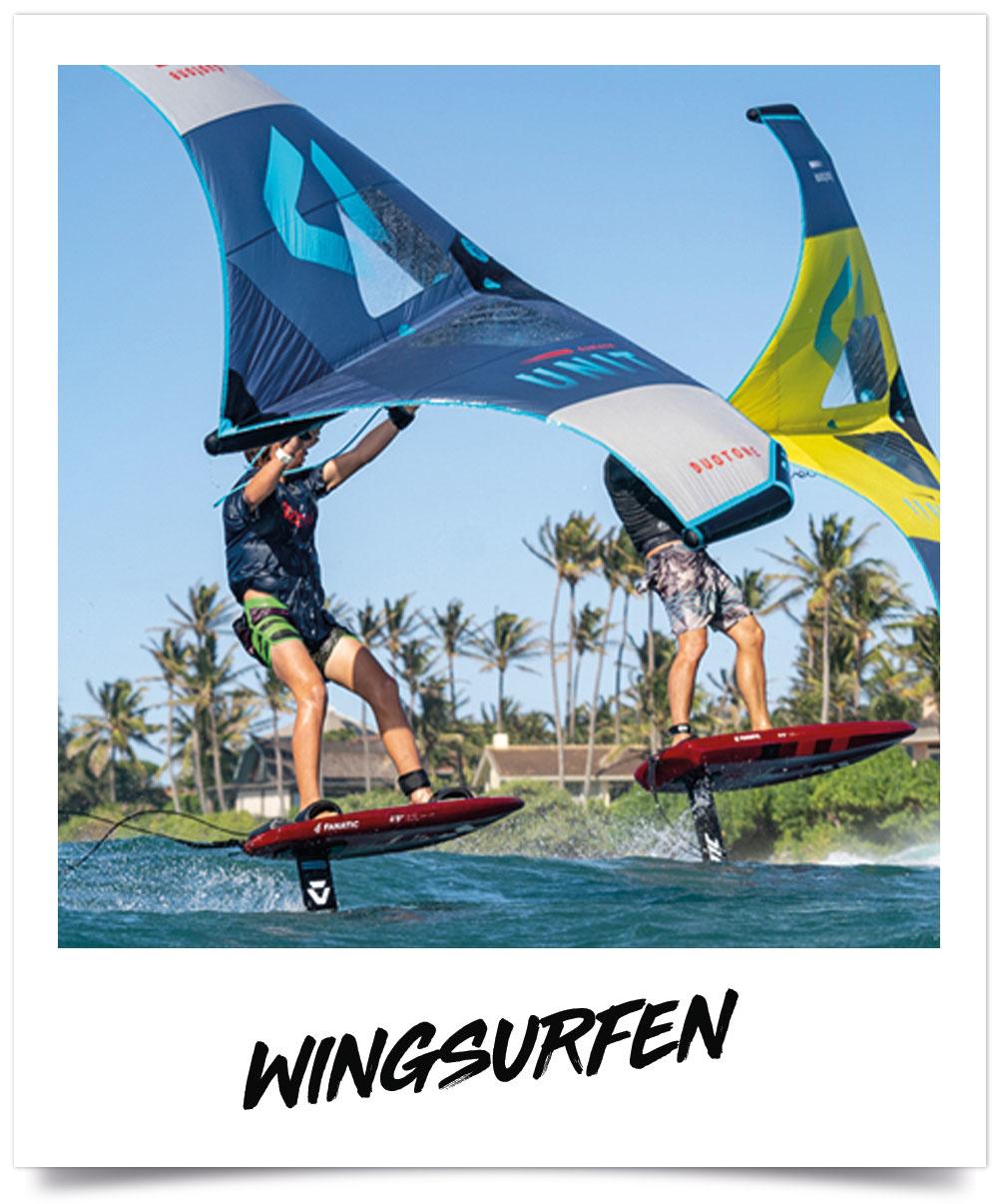 Wingsurf boards, wings en foils