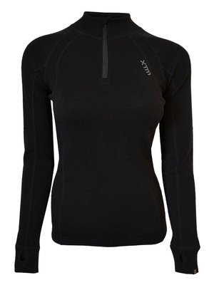 Xtm Dames Thermo Merino Zip Neck