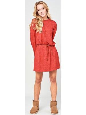 Ripcurl Cosy Ls Dress Oranje