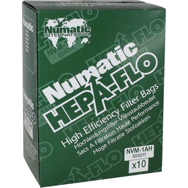 Numatic NVM-1AH HepaFlo stofzakken (10 stuks)