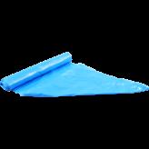 HDPE 70x110cm 30mu Blauw