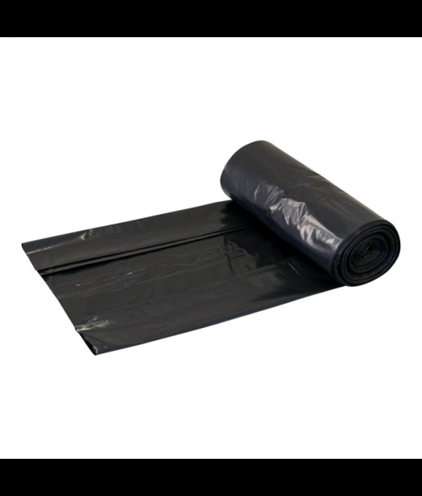 LDPE 70x110cm 50mu Zwart