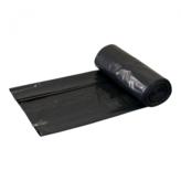 LDPE 90x125 60mu Zwart