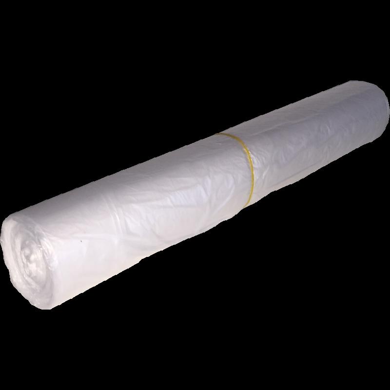 HDPE 60x65cm 15mu transparant