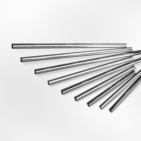Ettore Clipless RVS Rail + Rubber 25cm