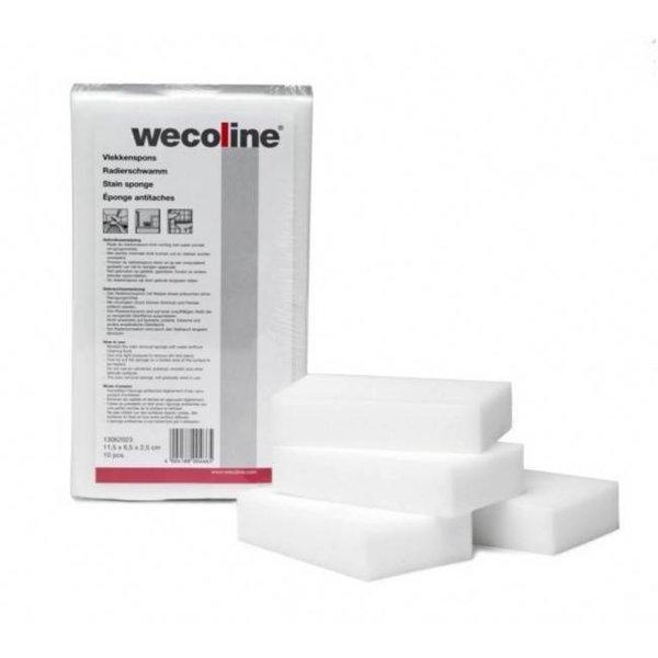 Wecoline Wecoline Vlekken Spons 10 stuks