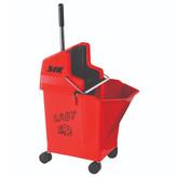 Syr Ladybug Rolemmer + Pers, Rood, 13 liter