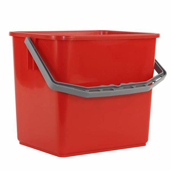 Emmer 6 liter, Rood