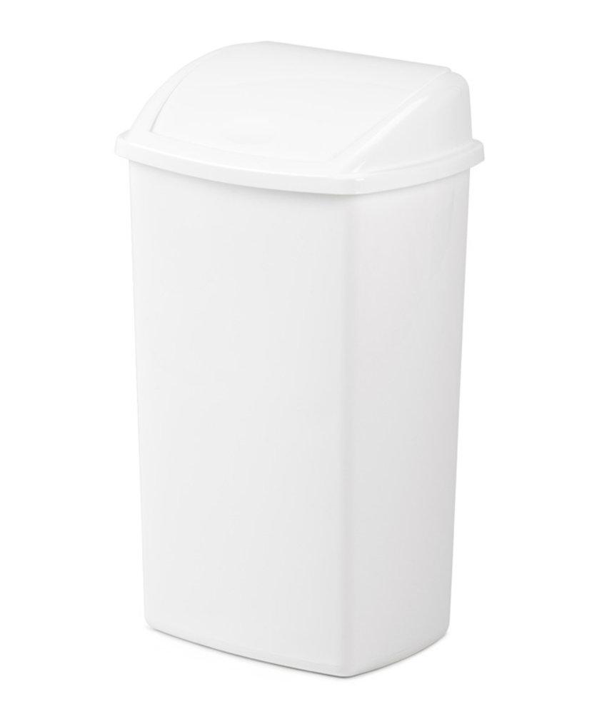 Afvalbak met Swingdeksel 50L