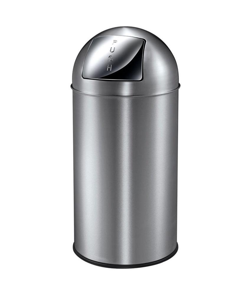 Afvalbak met Pushdeksel 40L