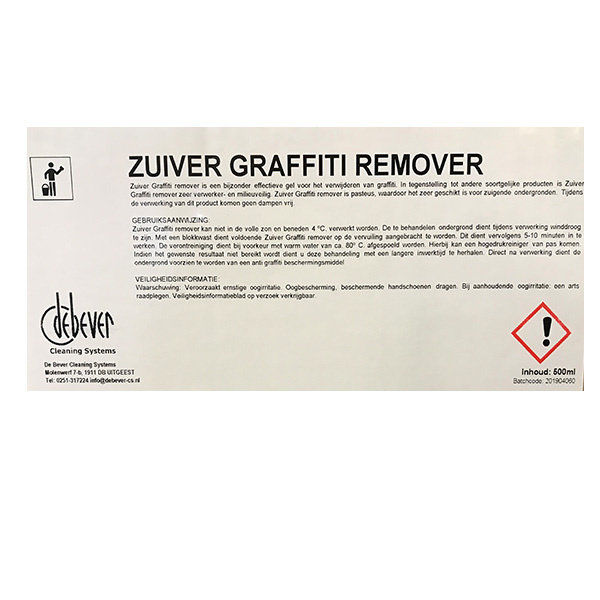 Zuiver Graffity remover 500ml