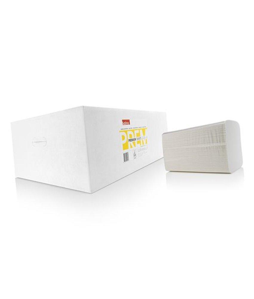 Satino Handdoekjes 2-Lgs, V vouw, 3200 stuks