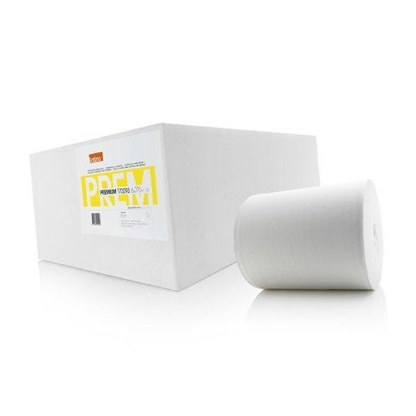 Satino Poetsrol Premium zonder huls, 1-laags, Cellulose, 280 meter, 21 cm, 6 rollen