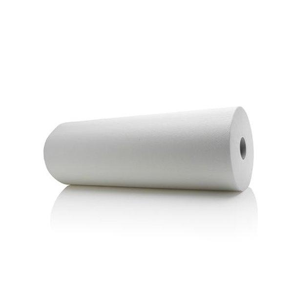 Satino  Onderzoektafelpapier 2-laags, Wit, 6 rollen a 150 meter, 46cm breed