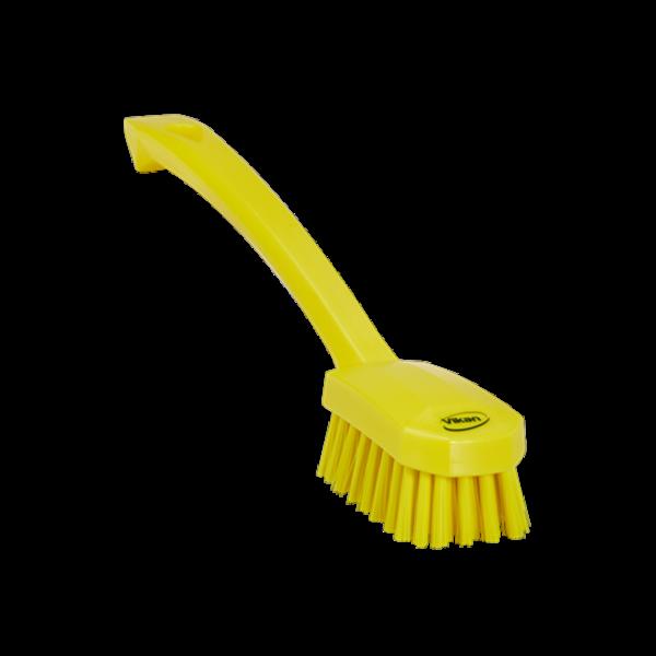 Vikan afwasborstel, medium, geel