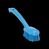Vikan afwasborstel, medium, blauw