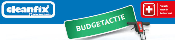 BUDGET ACTIE! T/M 31-01-2020