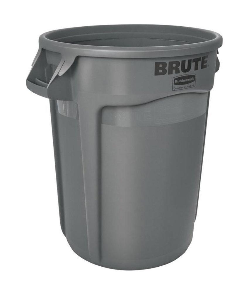 Afvalbak Brute, Grijs, 120L