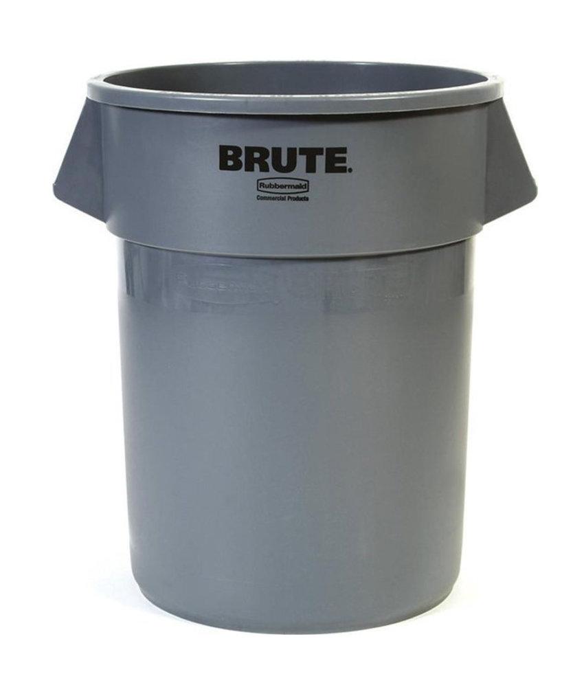 Afvalbak Brute, Grijs, 210L