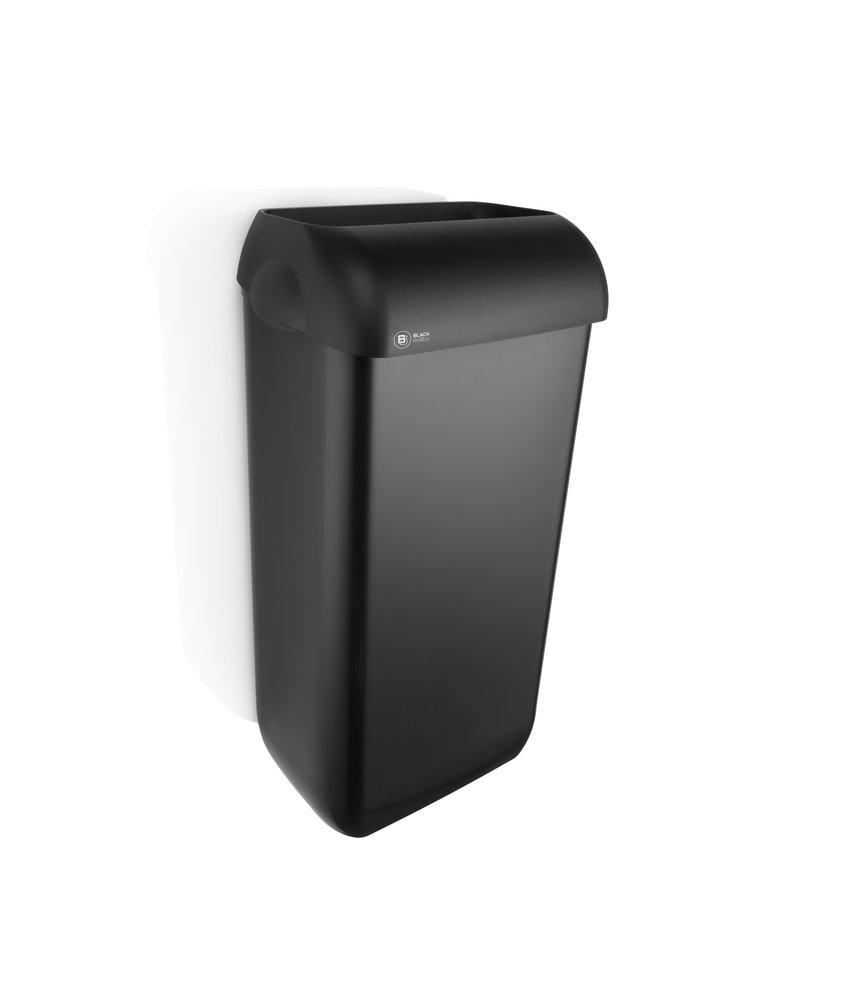 Satino Black Afvalbak 23L