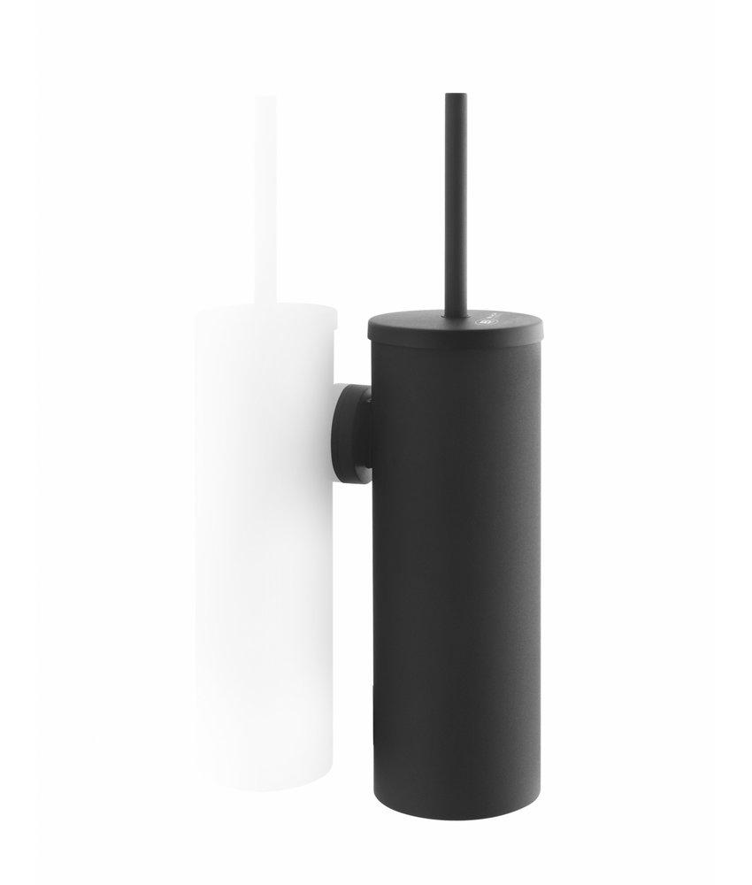 Satino Black Toiletborstel garnituur