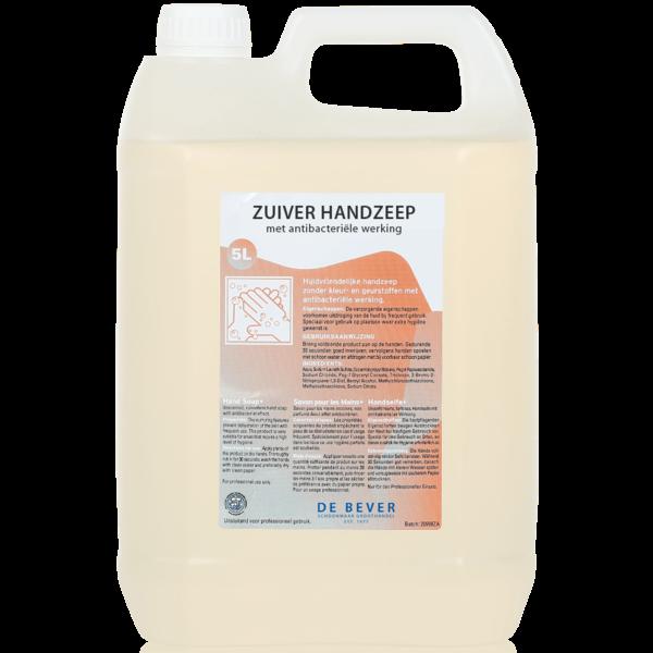 Zuiver Handzeep met Antibacteriële Werking (5 liter)