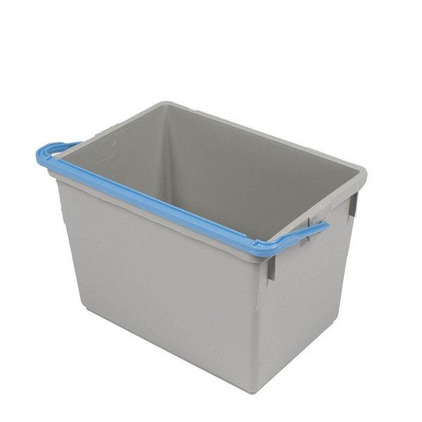 Numatic Grijze 10 liter emmer, blauwe hendel