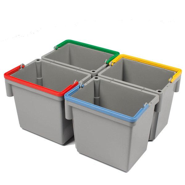 Numatic Grijze 5 liter zwenkemmer, kleur naar keuze.