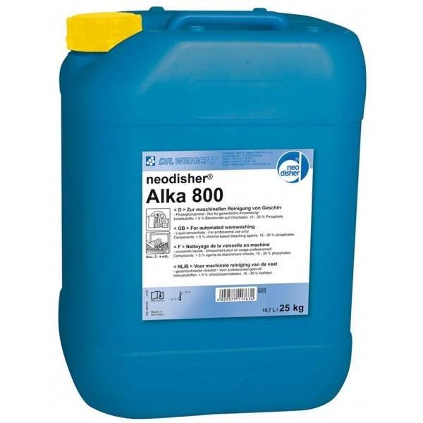 Neodisher Alka 800 - 24kg vloeibaar vaatwasmiddel