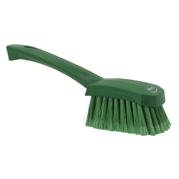 Vikan  afwasborstel met korte steel, zacht, groen