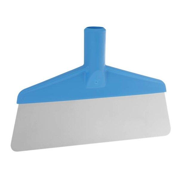 Vikan flexibele vloerschraper, RVS blad,