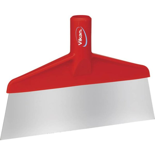Vikan  vloer- of tafelschraper, rood,