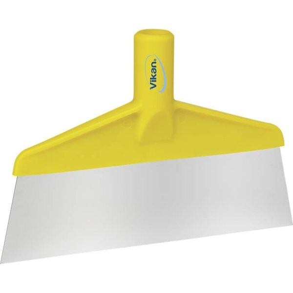 Vikan  vloer- of tafelschraper, geel,