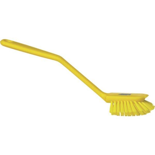 Vikan normale afwasborstel, geel, medium