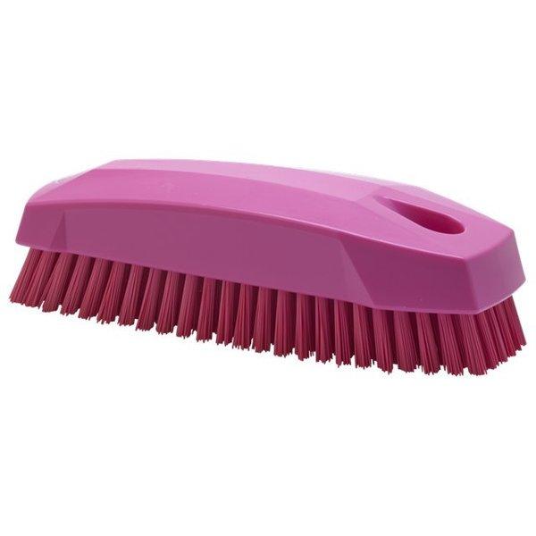 Vikan  nagelborstel, hard, roze,
