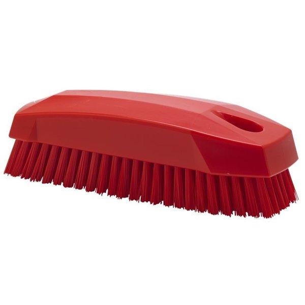 Vikan  nagelborstel, hard, rood,