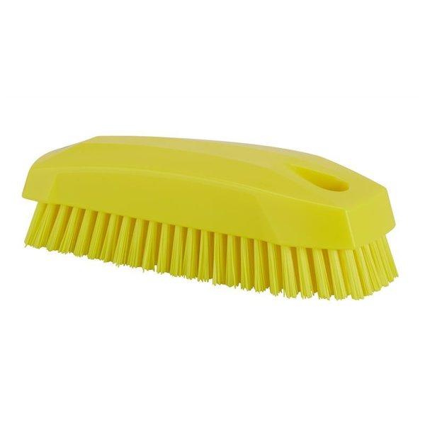 Vikan  nagelborstel, hard, geel,