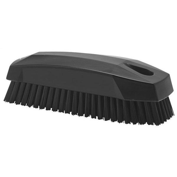 Vikan  nagelborstel, hard, zwart,