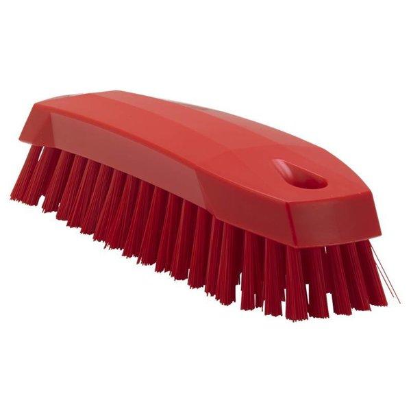 Vikan kleine werkborstel, medium, rood