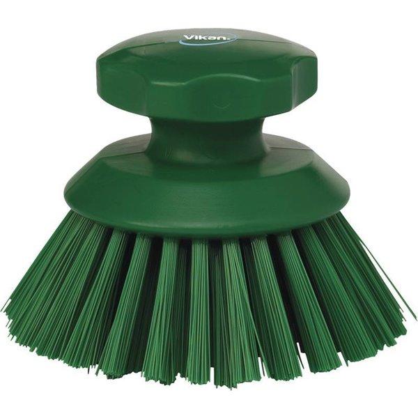 Vikan  ronde werkborstel, hard, groen