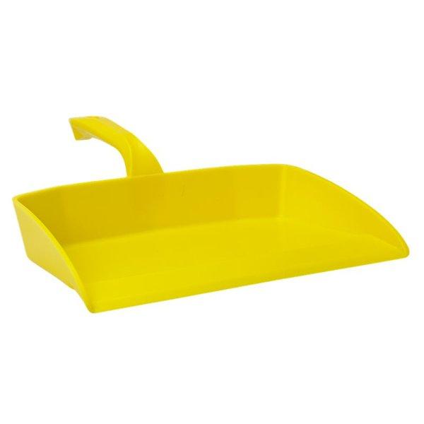 Vikan Ergonomisch stofblik, geel