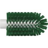 Vikan pijpborstel, steelmodel, medium, groen, ⌀ 77 mm