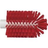 Vikan pijpborstel, steelmodel, medium, rood, ⌀ 90 mm