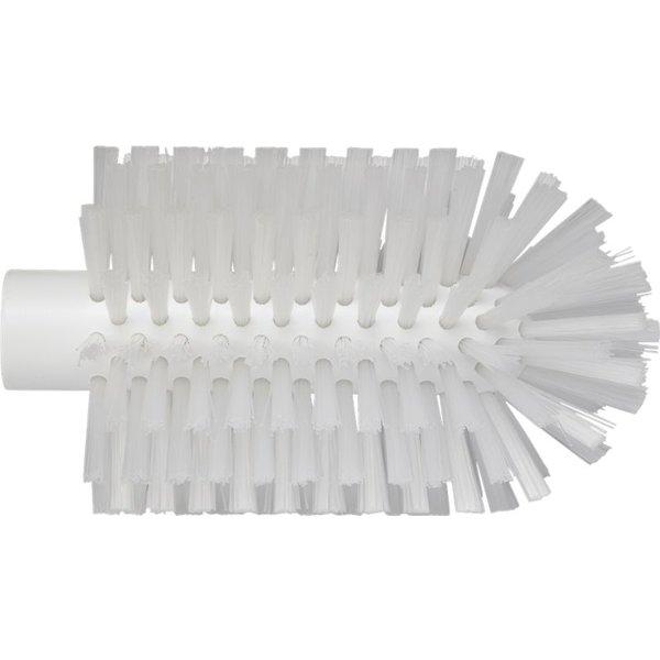 Vikan pijpborstel, steelmodel, medium, wit, ⌀ 90 mm