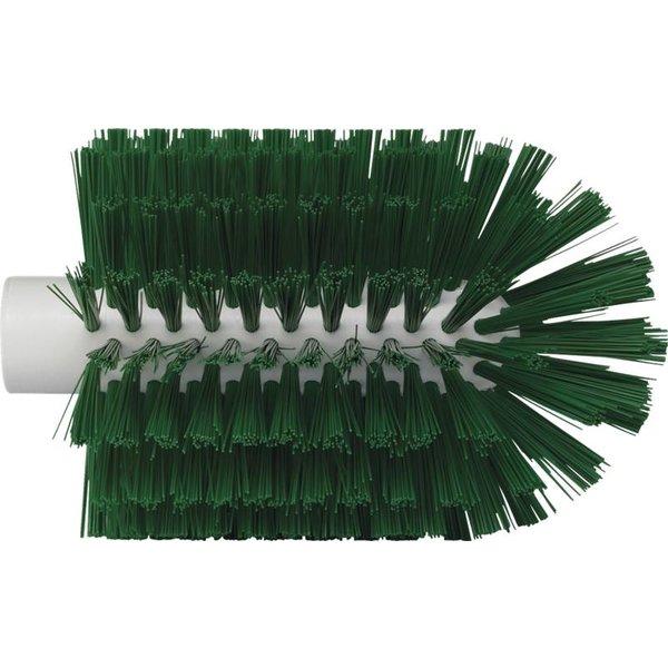 Vikan pijpborstel, steelmodel, medium, groen, ⌀ 103 mm