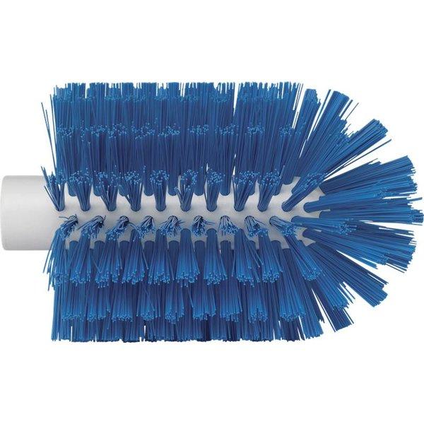 Vikan pijpborstel, steelmodel, medium, blauw, ⌀ 103 mm