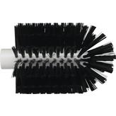 Vikan pijpborstel, steelmodel, medium, zwart, ⌀ 103 mm