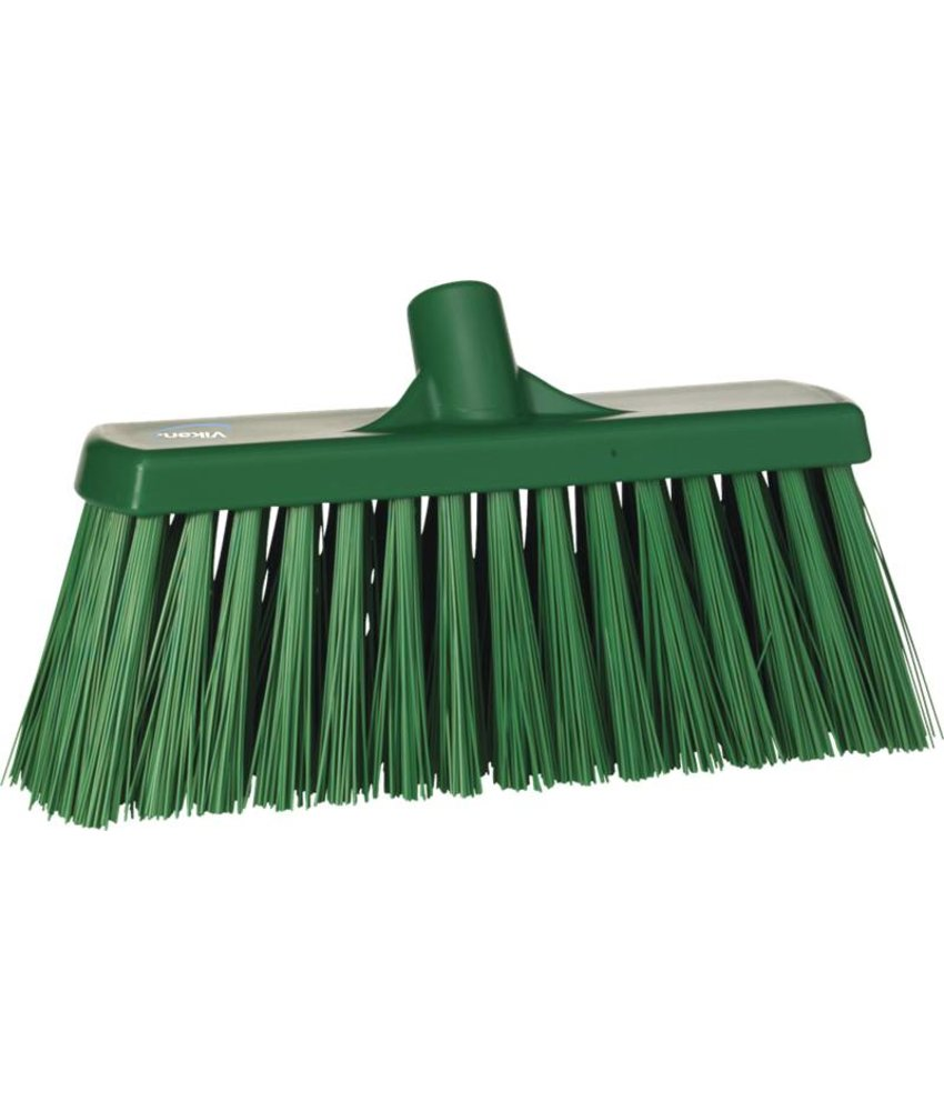 Vikan bezem, 30 cm, hard, groen