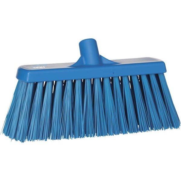 Vikan bezem, 30 cm, hard, blauw