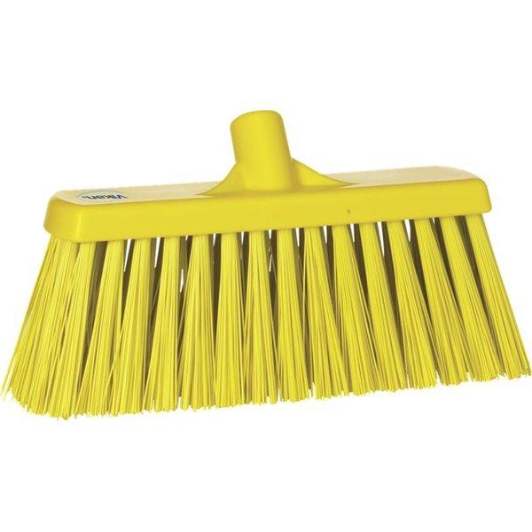 Vikan bezem, 30 cm, hard, geel